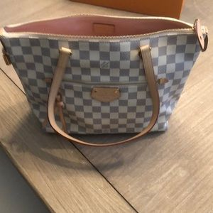 Louis Vuitton Iéna PM in Damier Azur canvas